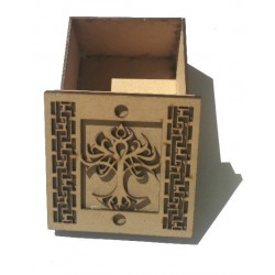Boîte arbre de vie en Médium