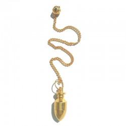 Pendule Horus doré