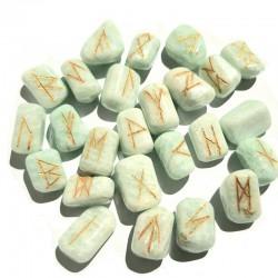 Jeu de runes en Amazonite